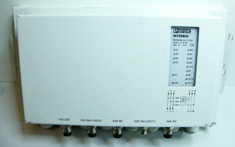Phoenix-contact-Interbus-IBS-IP-400-ME-ELR-2-3A-DI4