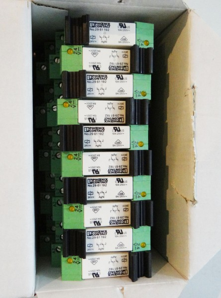 10-x-Phoenix-Contact-PLC-BSC-24DC-21-21-Ord-No-2967015-Interfaceklemme